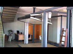 Motor de techo en puerta preleva(1).mp4 - YouTube