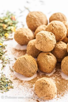 Earl Grey Chocolate Truffles