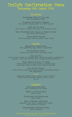 Welcome to Eno' Bar & Grill Dundalks Favorite Restaurant. Try Eno' Pork Roast, Bar Grill, Roasted Butternut, Fennel Seeds, Homemade Soup, Elderflower, Pork Belly, Confirmation