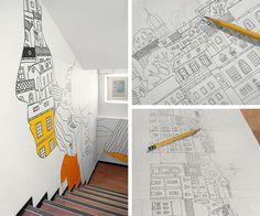 Generator Hostel Wall Decorations   Tim Bjørn • Graphic design & illustration