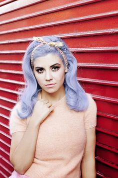 Teen Idle by Casper Balslev for ♡ Electra Heart ♡ Electra Heart, Marina And The Diamonds, Pink Diamonds, Lavender Hair, Lilac Hair, Ombre Hair, Violet Hair, Periwinkle Hair, Pastel Pink Hair