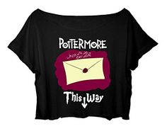 Women's Crop Top Harry Potter Tshirt Magic Harry Potter Shirt (black) http://www.amazon.com/dp/B015U4MSKU/ref=cm_sw_r_pi_dp_NdLbwb03SRS9Y