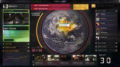 http://www.behance.net/gallery/Transformers-3/1191551    Transformers, HUD, GUI, UI, Globe, World, Interface, Active, Design