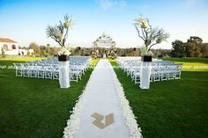 Riviera Country Club Wedding Ceremony Site
