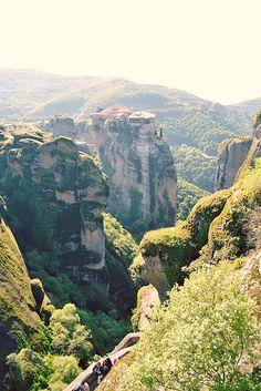 Somewhere in Greece. Looks like Samaria Gorge in Crete, to me.