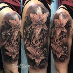 A Comprehensive Overview on Home Decoration - Modern Weird Tattoos, Baby Tattoos, Girly Tattoos, Dope Tattoos, Sister Tattoos, Flower Tattoos, Lily Tattoo Design, Fairy Tattoo Designs, Lily Tattoo Sleeve