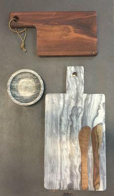 Skærebræt fra Stuff design #marmor#træ