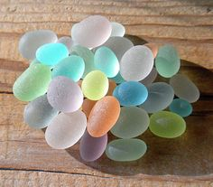 Sea Glass from coves in Northern California