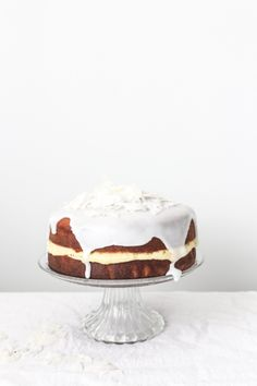 coconut sponge cake with ginger buttercream food  photography, food styling, learn food photography