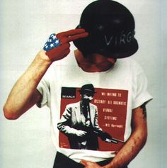 Richey, photo shoot for Holy Bible artwork.