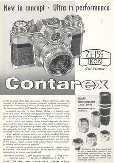 """New in concept - Ultra in performance"" publié dans : Color Photography Annual 1960."