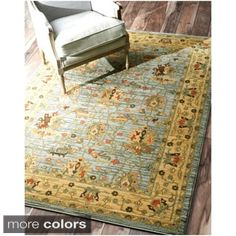 nuLOOM Traditional Ziegler Kashan Fancy Rug (5'3 x 7'7) | Overstock.com Shopping - The Best Deals on 5x8 - 6x9 Rugs