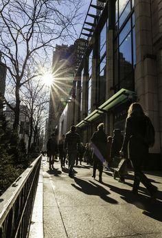 Chicago sidewalk. Pinned by #CarltonInnMidway - www.carltoninnmidway.com