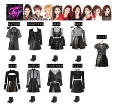 TWICE - LIKE OOH AHH♡ by vvvan99 on Polyvore featuring polyvore fashion style Alexander McQueen Boohoo Yves Saint Laurent Rare London Wes Gordon Topshop Love Leather WithChic Vetements Balenciaga Sandro Conflict of Ego Versace Les Chiffoniers Alexander Wang Belstaff Sea, New York Full Tilt ASOS Miss Selfridge Alinka clothing