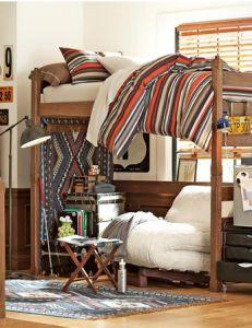 how to build a dorm bed loft