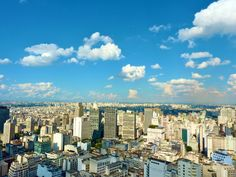Sao Paulo, city where I'm from