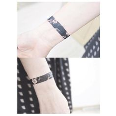 Black arm band More -