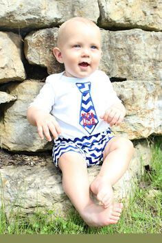 4th of July Baby Boy Clothes July 4th Patriotic Baby Boy All American Boy USA Stars