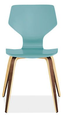 To Add a pop of color to my neutral kitchen., Pike Chair with Wood Base in Colors - Desks & Chairs - Kids - Room & Board