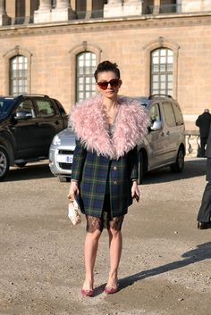 Natalia Alaverdian, Paris fashion week | trendycrew.com