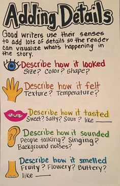 Adding details anchor chart (dead pin)