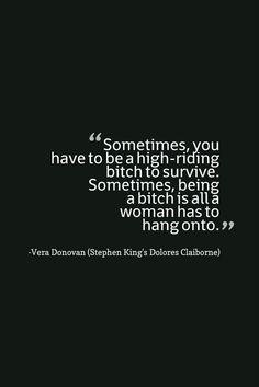 Dolores Claiborne Quote