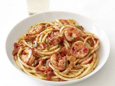I'd leave out the anchovies.. yuck! :) other than that looks bomb. Shrimp Fra Diavolo from FoodNetwork.com
