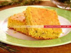 Receita de Torta de milho com ervas