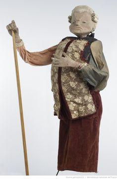 Fonds Georges Lafaye. III. Spectacles de marionnettes. Vieilles chansons françaises (1943, Lafaye), Marionnettes du Joli tambour. Le roi