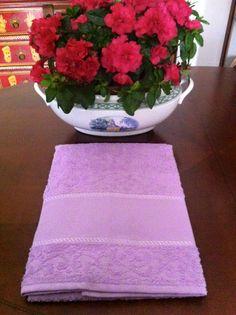 coppie di spugna con tela aida a 6,00€ in lilla