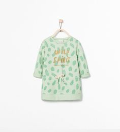SPOT AND TEXT DRESS-Dresses-Baby girl (3 months - 3 years)-KIDS | ZARA United States
