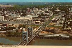 From an old post card, this is Sacramento in 1968!