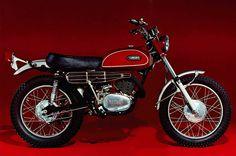Yamaha Poster DT1 DT1 C 250cc Trail Superb Suitable 2 Frame 2   eBay