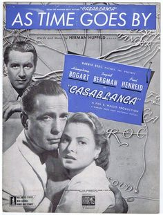 """""""As Time Goes By"""" (Casablanca) 1942, sung by Dooley Wilson"""