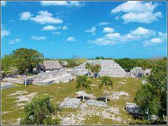 Mayan Ruins - Mayan ruins in Progreso, Yucatan, Mexico. #PhotoOfTheWeek