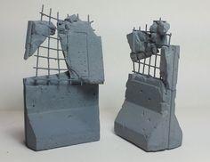 Table Top Wargame Custom Destructible Barrier by TaroModelmaker