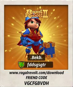 Build your own kingdom and lead your army to victory! https://youtu.be/QWxj-qPPncY  Download Royal Revolt 2 on your mobile device: www.royalrevolt.com/download    Start the game and get an EPIC reward by entering this friend code: VGCFGBVDH