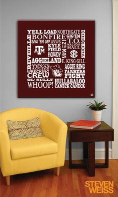 All Aggie canvas!