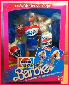 pepsi barbie
