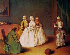 1744, Il Gioco della Pentola, Pietro Longhi