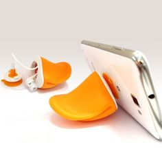 Duck Duck Phone Stand and Headphone Winder