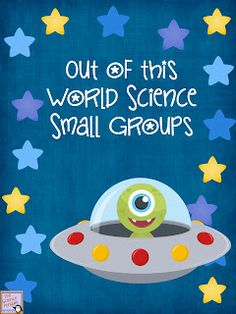 Out of this World Science Small Groups {a free mini-guide}