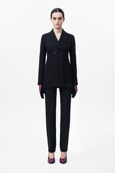 Christopher Kane black suit