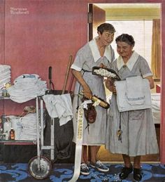 Norman Rockwell - Just Married - Fine Art Print