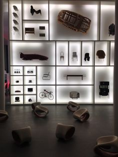 Audi design wall at the Pinakothek der Moderne © ArchDaily