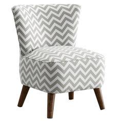 Chevron Accent Chair.