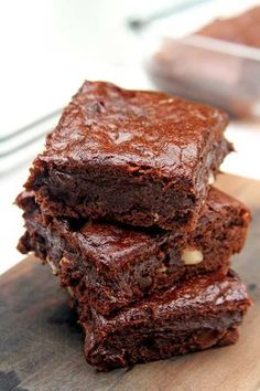 Nutrition is for you and for you long lasting life! Brownie Recipe Video, Brownie Recipes, Sweet Recipes, Whole Food Recipes, Vegan Recipes, Brownie Sem Gluten, I Love Food, Good Food, Vegan Candies