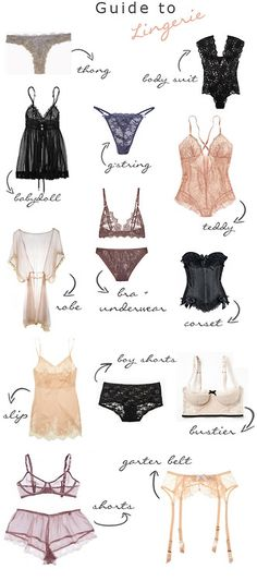 Guide to Lingerie Via