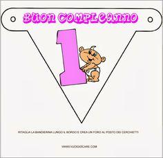 Giochi e disegni da colorare:   LE BANDIERINE   Bandierine di cartada stampare ...