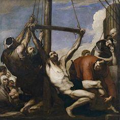 Martirio de San Felipe, de José de Ribera